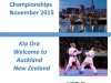 Bulletin for 3rd WGKF Championship in New Zealand